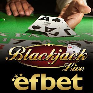 EFBet blackJack